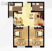 城关江南明珠3室1厅1卫83平方米户型图