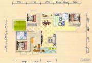 金色港湾4室2厅2卫150平方米户型图