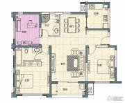 阳光100国际新城3室2厅2卫121平方米户型图