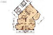 东方雅居3室2厅3卫0平方米户型图