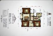 香槟小镇3室2厅1卫119--122平方米户型图