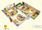 中国铁建国际城1室1厅1卫0平方米户型图