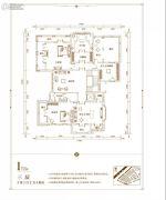 俊发・九夏云水3室1厅2卫0平方米户型图