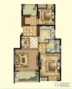 嘉宝梦之缘景庭2室2厅1卫0平方米户型图
