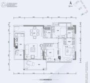 翔隆七色城邦3室2厅1卫106平方米户型图
