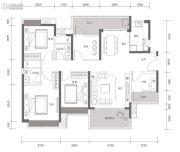 方直星耀国际5室2厅2卫142平方米户型图