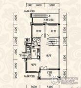 恒大恩平泉都2室2厅1卫109--114平方米户型图