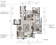 重庆・阳光城3室2厅2卫100--116平方米户型图