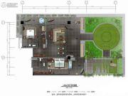 保利凤凰公馆2室1厅1卫123平方米户型图