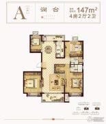 海盐碧桂园嘉南首府4室2厅2卫0平方米户型图