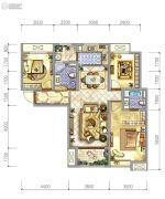 阳光城・丽兹公馆3室2厅2卫110平方米户型图