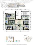 万科银海泊岸5室2厅3卫149平方米户型图
