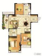亚东观樾3室2厅1卫108平方米户型图