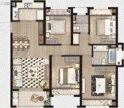 象屿虹桥悦府4室2厅2卫0平方米户型图