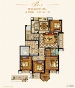 金城豪庭5室2厅2卫128平方米户型图