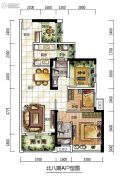 龙光城3室2厅2卫0平方米户型图