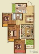 诚城・三英里3室2厅1卫94平方米户型图
