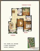 锡北新街口3室2厅1卫100平方米户型图