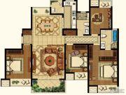九龙仓时代上城3室2厅2卫0平方米户型图