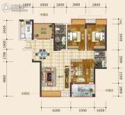 东星・熙城3室2厅2卫106--116平方米户型图