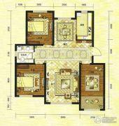 绿地・国际城3室2厅1卫99平方米户型图