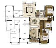 雅居乐・山海郡3室2厅2卫137--143平方米户型图
