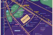 龙湖三千庭交通图