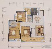 黔龙1号3室2厅2卫110平方米户型图