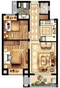 盛世景庭2室2厅1卫0平方米户型图