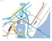 电子城・厦门国际创新中心交通图