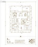 俊发・九夏云水4室4厅2卫0平方米户型图
