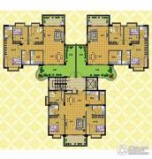 丽豪花园3室2厅2卫0平方米户型图