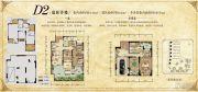 华宇锦绣花城98平方米户型图