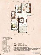 芭东海城2室2厅1卫130平方米户型图