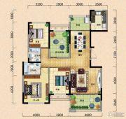 园方欧洲城3室2厅2卫144平方米户型图