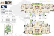 富元利和豪庭2期108--116平方米户型图