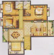恒信广场3室2厅2卫145平方米户型图