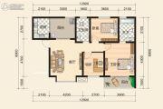 富绅世纪山江3室2厅1卫0平方米户型图