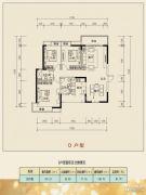 乐居・常青藤3室2厅2卫130平方米户型图
