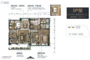 碧桂园华润・新城之光4室2厅3卫0平方米户型图