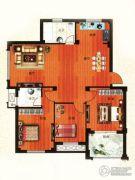 金港嘉园2室0厅2卫123平方米户型图
