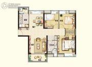 阳光城丽景湾3室2厅1卫107平方米户型图
