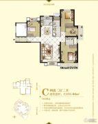 中央公园城4室2厅2卫31平方米户型图