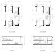 肇庆敏捷城4室3厅2卫106平方米户型图