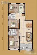 丽州首府3室2厅2卫0平方米户型图