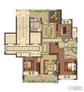 融创常州御园3室2厅2卫139平方米户型图