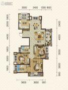 隆鑫爱琴海3室2厅2卫0平方米户型图