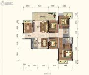 新希望・锦官城4室2厅2卫140平方米户型图