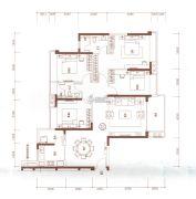 海伦湾4室2厅2卫152平方米户型图