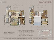 大学小筑4室2厅5卫320--450平方米户型图